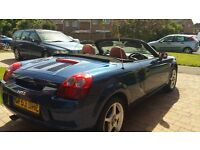 2003 Toyota MR2 Roadster- mileage 132422, MOT until May 2018 ,red leather seats. Recent new hood