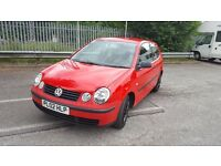 Volkswagen Polo 1.4 S 3dr (RED)