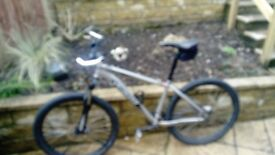 Specialised hardrock mountain bike with front suspension