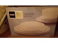 Two 12 piece dinner set 's