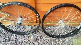 Proper Microlite BMX wheels fully sealed