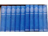 Arthur Mee childrens encyclopedia set vol 1-10