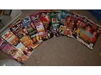 Buffy the Vampire Slayer magazines (10)