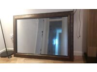 Vintage style framed mirror £20