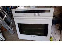 Neff inigrated oven White