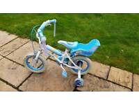 "Girls 12"" Disney Princess Cinderella Bike"