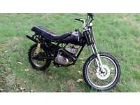 Old suzuki 125cc scrambler
