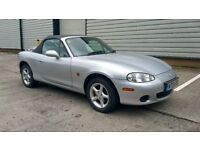 MX5 2004 MAZDA MX-5 1.6 FULL SERVICE HISTORY, BELTS CHANGED, SWAP or P/EX