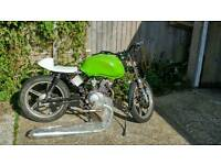 Ajs js125 cafe racer/flat track running project
