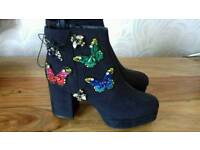 Ankle boots ( new )