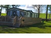 Static caravan sited at Fintry. 3 bedroom