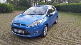 Ford Fiesta Zetec. 1.4l petrol. Full ford service history and 12 month MOT