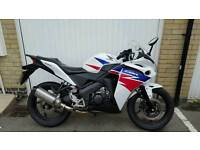 Honda CBR 125 2014 scorpion predator exhaust fitted