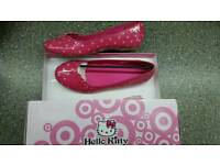 Hello Kitty ladies shoes size 5 NEW in box