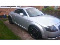audi tt quattro full black leather full service history