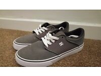 DC Shoes Mikey Taylor Vulc Skate Shoes - Dark Grey - Size 7 UK (Mens Trainers)