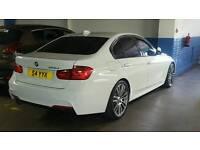 (BARGAIN) Top spec 2015 64 plate BMW 325d M sport 23000 mileage 1 owner fsh warranty (320 320d 330d)