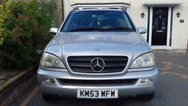 Mercedes-Benz ML 7 seats diesel