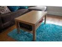 Ikea Coffee Table & Side Table