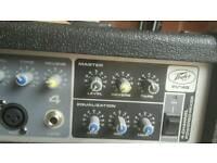Peavey 4-channel powered mixer
