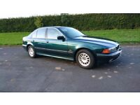 BMW 523I SE. Two owners from new, The car has a full year MOT