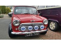 Austin Mini City E 1986 Low Mileage . Alloys and Custom seats