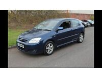 Toyota Corolla 1.6 vvti Petrol, 3dr, A/C, 85k, Facelift. (PX Civic Type R FN2)