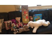 Joblot toy teddies animals picture frame all new can be resold or passed on as gifts