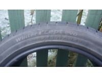 4 winter tyres (used 1 winter only) (RHancook 225/45R17 winter i*cept) fits Audi A3 Avant