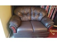 real leather sofa delivery available