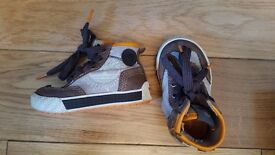 timberland high tops size 3.5.
