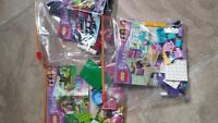 3 lego friends sets