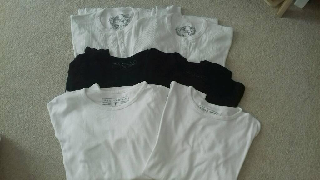 6 men cotton tops