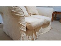 Two seater fabric sofa in Great condition