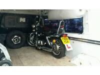 Motorbike 125cc chopper