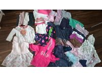 girls clothes+shoes - very large bundle 2years+ (18 pairs of shoes/70 pieces of clothes)