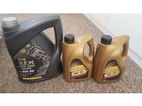 9 litres of 5W30 Synthetic Engine Oil