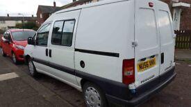 2006 Peugeot Expert campervan registered DVLA motorhome conversion