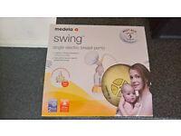 Medela Swing Breast Pump : Breast Feeding Pumps