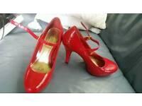 Stunning red heels