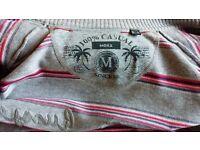 Mexx Zip Cardigan Sweat Jumper Grey Pink Purple, Womens Ladies