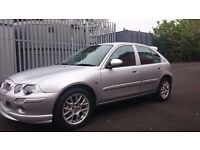 03 MG ZR 5 Door Hatchback Silver 1.4
