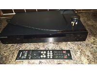 Samsung blue ray player plays dvd usb lan connectivity usb port hdmi