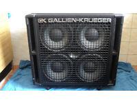 Gallien Krueger RBH410 cab 800 Watts