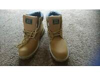 Tan boots. Mens size 10