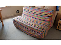 Colourful double Sofa bed