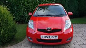 Toyota Yaris SR 2009 1.3 5 door,mot to august 2018, 83,000 miles,full service history,new clutch