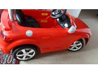Toy electric car