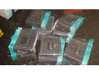 NEW 8 chrome light switches