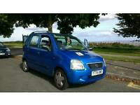 Suzuki wWagon R 1.3 80k miles new cambelt and fanbelt and brakes 500 ovno